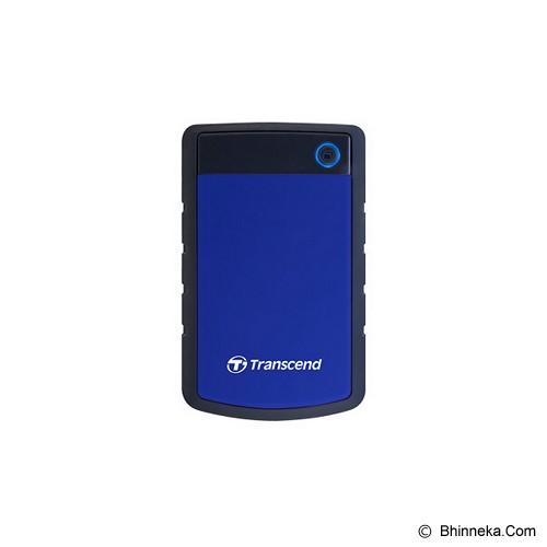 TRANSCEND StoreJet 25H3 USB 3.0 1TB [TS1TSJ25H3B] (Merchant) - Hard Disk External 2.5 Inch